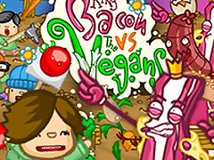 King Bacon VS Vegans