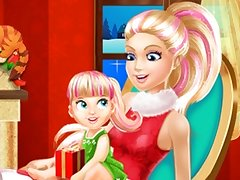 Barbie Family Christmas Eve