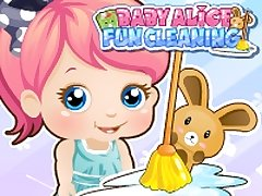 Baby Alice Fun Cleaning