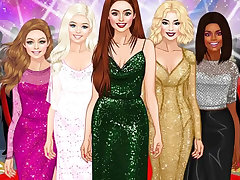 Red Carpet Dress Up Girls